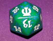 5 Green SPINDOWN Dice Theros, 20 sided Spin Down Die MtG Magic the Gathering d20
