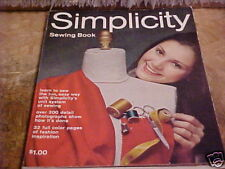 1969 SIMPLICITY SEWING BOOK 224 PAGES 200 DETAIL PHOTOS