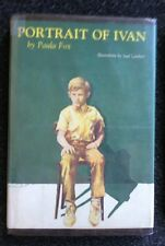 4 Paula Fox Books One-Eyed Cat Monkey Island The Slave Dancer Portrait of Ivan