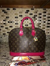 Authentic Louis Vuitton Alma PM Magenta