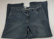 Fashion Bug Womens Jeans Plus Sz 18W Short Boot Cut High Waist Denim **
