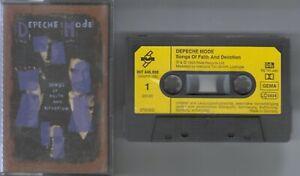 Depeche Mode    MC / Tape / Kassette   SONGS OF FAITH AND  DEVOTION   ©  1993