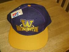 Washington Huskies hat snapback RaRE new old stock The Game w/ tag MINT DS Ncaa