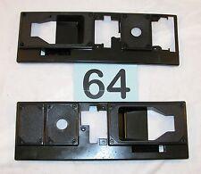 82-92 Camaro 82-86 Firebird Black Inner Door Panel Trim Panels  NICE PAIR