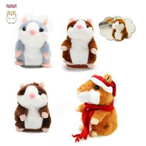 2021 Cute Talking Hamster Nod Mouse Record Chat Mimicry child Plush Toy Gift