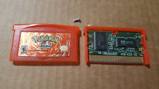 Authentic Pokemon FireRed Version Nintendo Game Boy Advance GBA GameBoy Fire Red