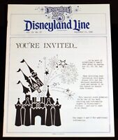 Disneyland Line Cast News 1980 Silver Anniversary 25th Year Open House Plans