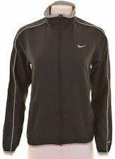 NIKE Womens Tracksuit Top Jacket Size 12 Medium Black  BU12
