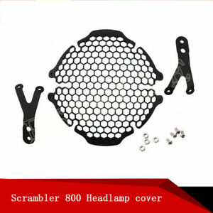 Motorcycle Headlight Grille Guard Cover Protector For DUCATI SCRAMBLER 800 400