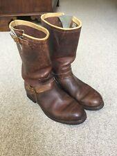 Ralph Lauren RRL Vintage Engineer Boots UK9