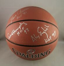 Cowan English Murphy Autographed Signed Hall of Fame Basketball JSA