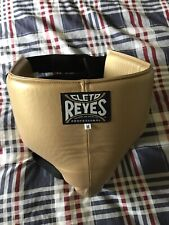 New Cleto Reyes Kidney and Foul Protection Cup Gold Medium Size 100% Leather