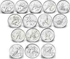 2007/2008/2009 Uncirculated Canadian Vancouver Olympic Quarters $0.25 *ONE ONLY*