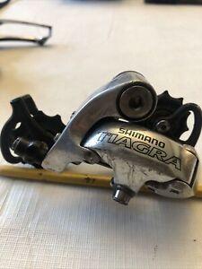 SHIMANO TIAGRA BICYCLE 9 SPEED GS MEDIUM CAGE REAR DERAILLEUR RD-4400 For Parts