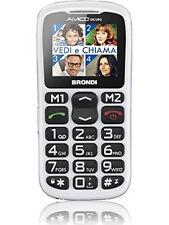 """Brondi Amico Semplice Plus 1.8"""" Bianco Caratteristica del telefono 1.8'', GSM 85"""