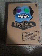 "Spin Master Fuggler Funny Ugly Monster Shaved Blue Sasquoosh 9"" Button Eyes"