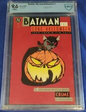 BATMAN THE LONG HALLOWEEN # 1 CBCS 9.6 white pages DC Comics not cgc