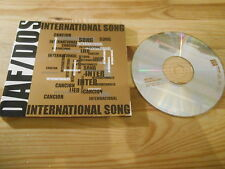 CD Pop DAF DOS - International Song (4 Song) MCD TCM / ROUGH TRADE Delgado NDW