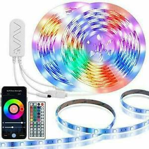 Led Strip Lights Works with Alexa, 32.8FT Waterproof Smart WiFi Music - remote