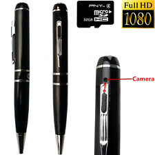 Full HD 1080P 32GB Spy Hidden Camera PEN USB Disk DVR Mini DV Video Recorder Cam