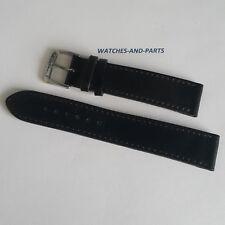 Nomos Black Leather Strap 19/18mm GENUINE NEW ORIGINAL