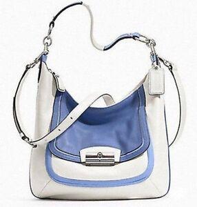 Coach Kristin Spectator Leather Hobo Shoulder Bag 22509