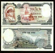 NEPAL 1000 1,000 RUPEES P-21 1972 UNC King Mahendra Mount EVEREST RARE BANK NOTE