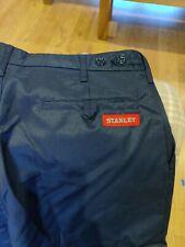 "Stanley kansas Work Trousers navy blue 34""waist  regular leg  LIQUIDATION STOCK"