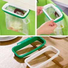 Trash Garbage Bag Rack Attach Holder/Over Cabinet cupboard Door Kitchen Bathroom