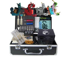 New High Quality 4 Tattoo Machine Kits equipment tattooing complete Supplier