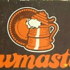 "c1970's-80's Wooden Matchbox Matchbook ""Brewmaster's Steak Wine Beer"""