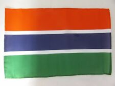 """GAMBIA 18"""" X 12"""" TREEHOUSE COURTESY CARAVAN SLEEVED FLAGS"""