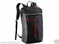 Porsche Rucksack - Racing Collection 2017 Grau/Schwarz/Rot - fabrikneu