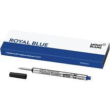 MONTBLANC Rollerball CAPLESS System Mine M, REFILL Royal Blue CAPLESS, 124496