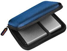 mumbi externe Festplattentasche 2,5 Zoll Tasche für Festplatten blau
