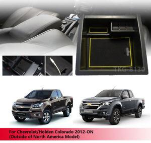 Center Console Storage Armrest Box Tray For Chevrolet / Holden Colorado 2012 - O