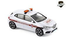 RENAULT MEGANE 4 2016 - ASVP Police municipale Française - 1/43 NOREV 517723
