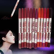 Hot Lot Colors Professional 12 PCS Lipliner Waterproof Lip Liner Pencil 15CM GA
