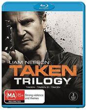 Taken / Taken 2 / Taken 3 (Blu-ray, 2015, 3-Disc Set)