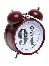 Harry Potter Hogwarts Express Train Platform 9 3/4 Bell Ringer Desk Alarm Clock