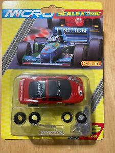 MICRO SCALEXTRIC G2006 JAGUAR XJ220 NO.11 RED - BRAND NEW - RARE BLISTER PACK