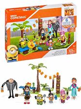 Despicable Me 3 Mega Construx Family Luau Party Building Set Minions Kids Toys