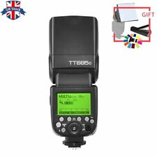 UK Godox TT685C 2.4G 1/8000s E-TTLGN60 Wireless Speedlite Flash for Canon+GIFT
