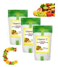 Vitamin C Powder 1KG L-Ascorbic Acid 100% Pure Pharmaceutical Grade BP/USP/EP
