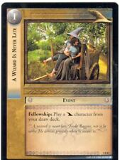 Lord Of The Rings CCG FotR Card 1.R87 A Wizard Is Never Late
