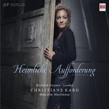 CHRISTIANE/MARTINEAU,MALCOLM KARG - HEIMLICHE ... 2 LP + DOWNLOAD NEW+