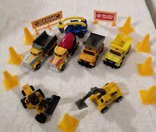 diecast construction equipment loose Tonka-Matchbox-Hot nwheels-Misc-used