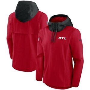 Brand New 2021 NFL Atlanta Falcons Nike Sideline Player Quarter-Zip Jacket NWT