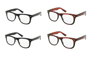 Reading Glasses Mens Readers Designer Italian W11RG New +1.00 to +3.50 Strengths