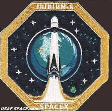 NEW Iridium-8 - SPACEX ORIGINAL FALCON 9 F-9 VAFB Launch SATELLITE Mission PATCH